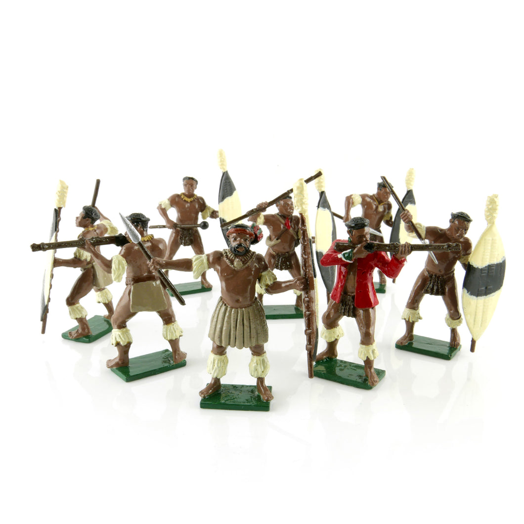 Toy Soldiers Set Zulus Married Regiments