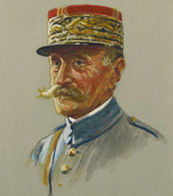 Load image into Gallery viewer, Portrait of Marshal Foch by Cecil Cutler, 1920