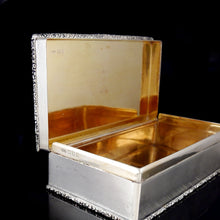 Load image into Gallery viewer, An Edward Prince of Wales Royal Presentation Cigarette Box, 1921