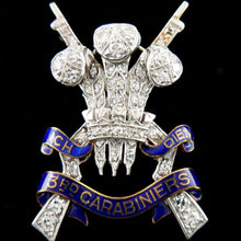 Load image into Gallery viewer, 3rd Carabiniers (Prince of Wales's Dragoon Guards) Brooch