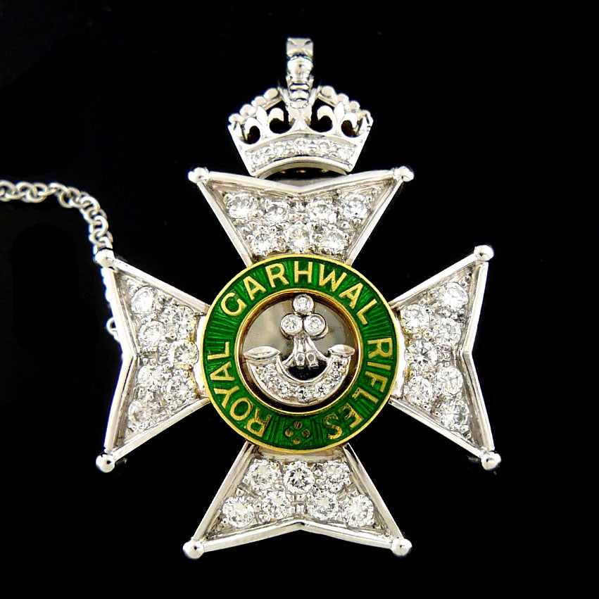 Royal Garwhal Rifles Brooch