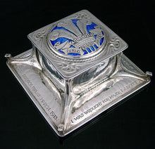 Load image into Gallery viewer, Prince of Wales's Own Civil Service Rifles Presentation Inkwell, 1912