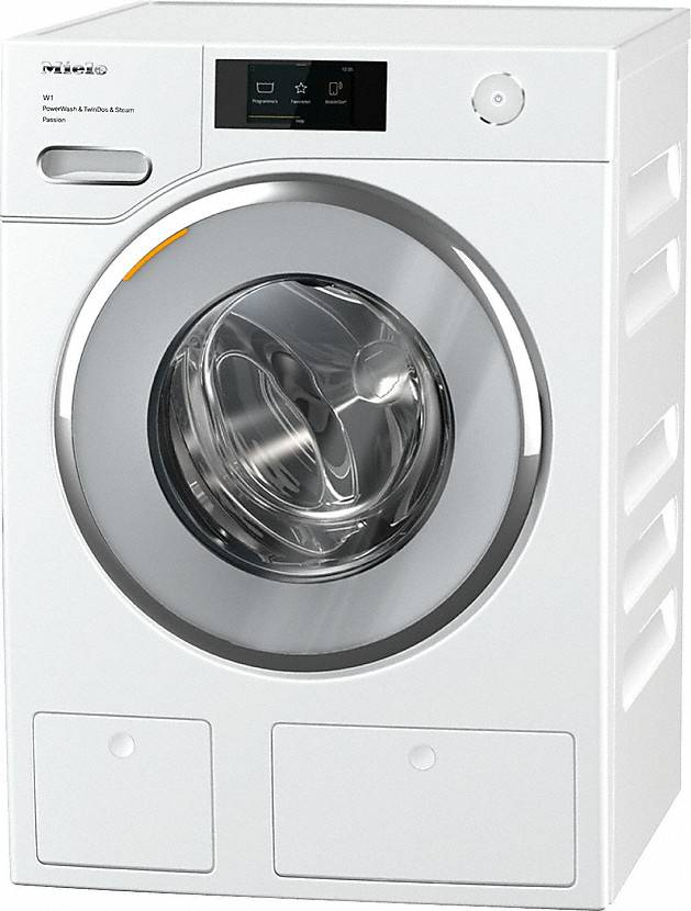 Wasmachine | Lotuswit | Standard White Edition - White Chroom door | A