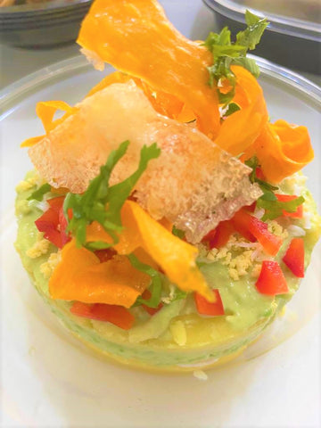 Crab Meat Causa (Causa de pulpa de cangrejo)