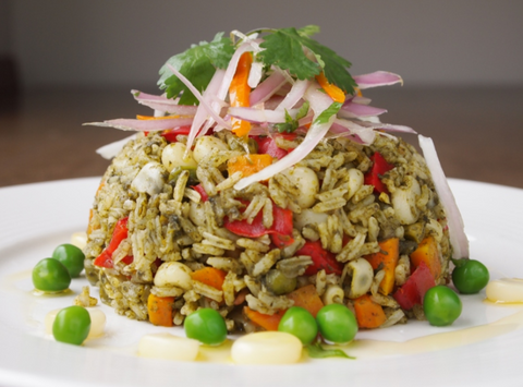 Arroz con Pollo (Vegetarian)