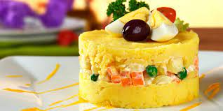 Vegetables Causa (Vegetarian)