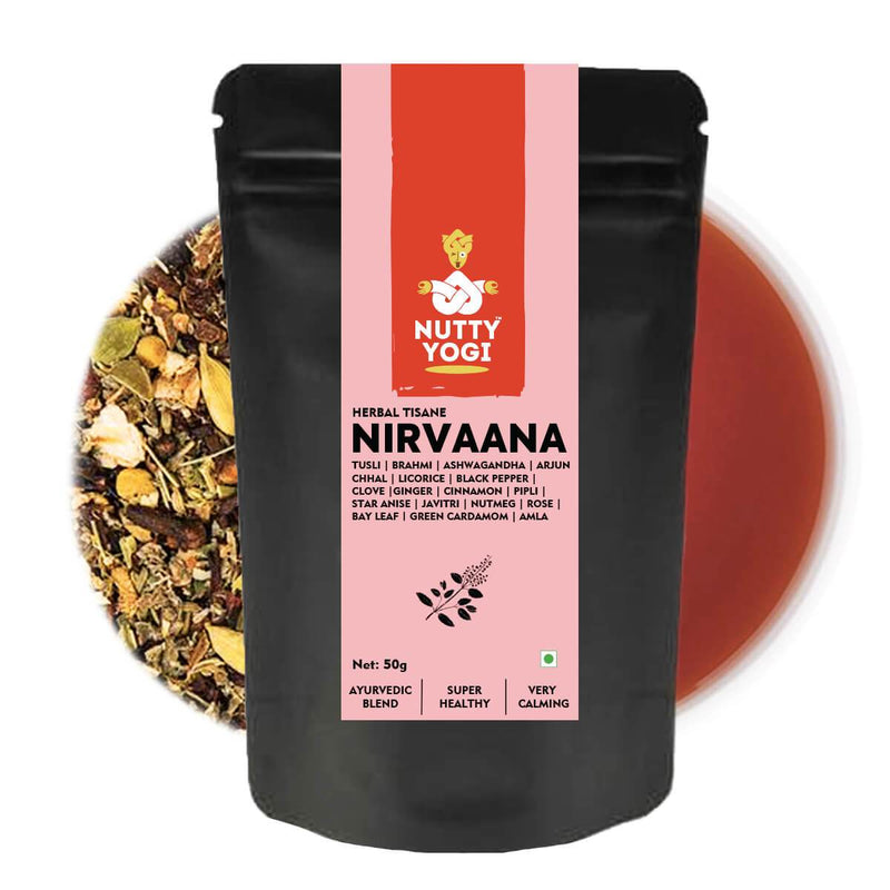 Nutty Yogi Nirvaana Anti Stress Tisane | 50g.