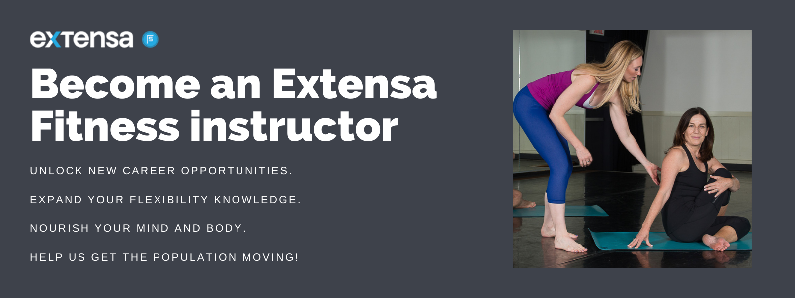 Become an Extensa Fitness instructor