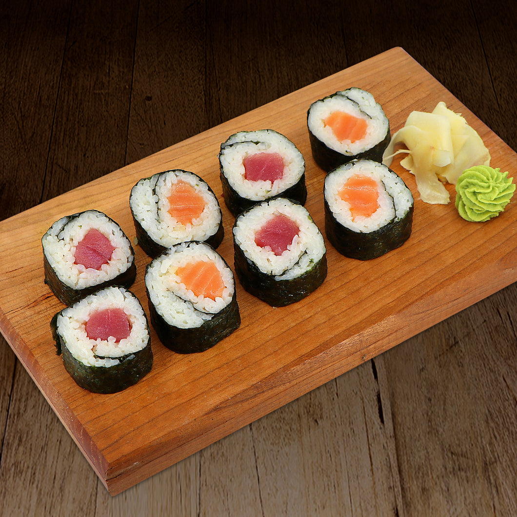 Tuna & Salmon Roll Combo