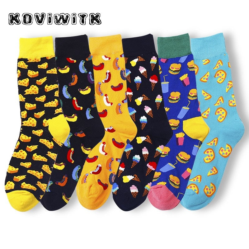 Cotton Food Socks