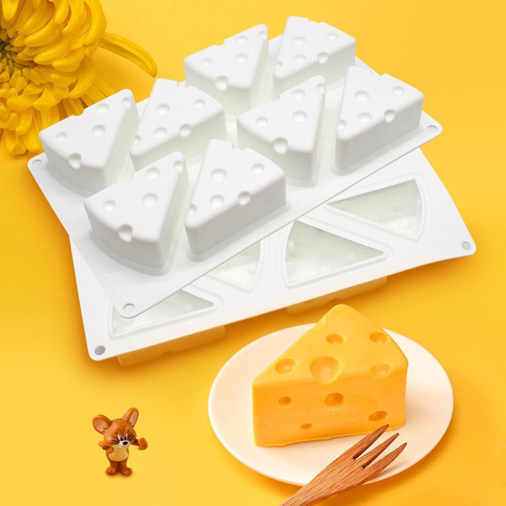 3D Cheese Silicone Mold Dessert Cheese Shape Silicone