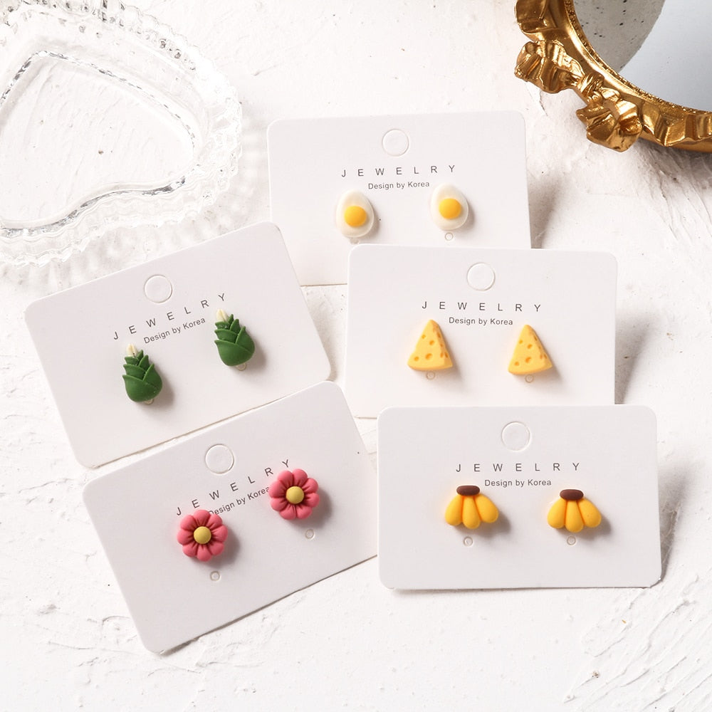 Mini Food Earrings