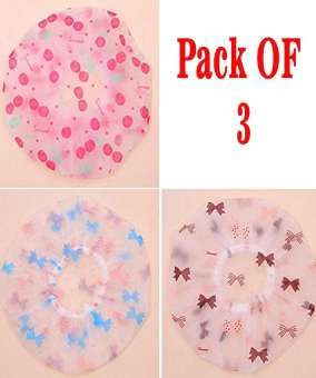 SHOWER CAP PACK OF 3 htfrmit4h-2