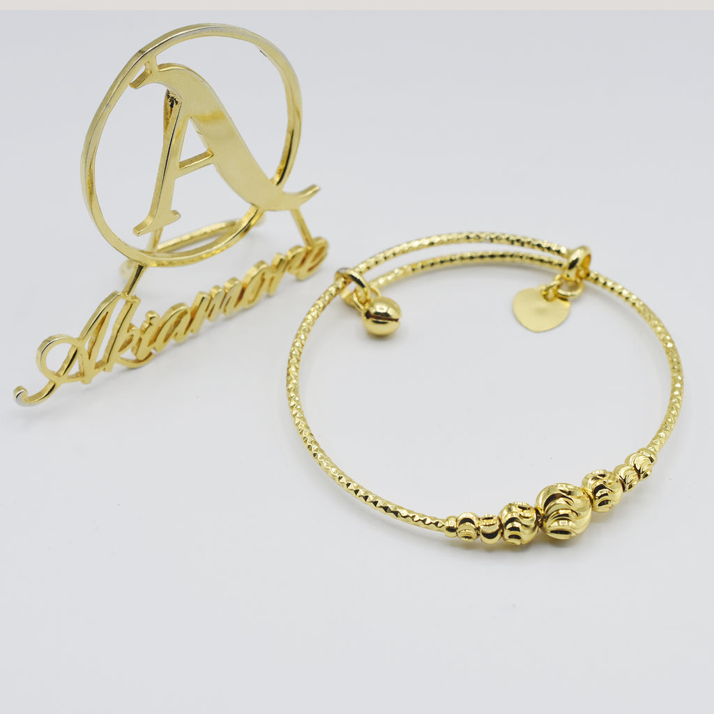Arrive! Fashion Jewelry Gold Filled Bangle Bracelet btfrgda4g-a