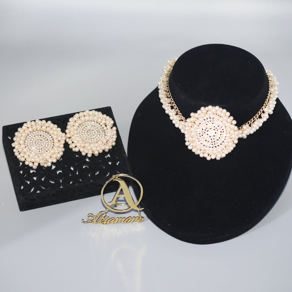 Jewelry Sets Women Indian African Jewelry Set amazing price Wedding Jewellery For Brides Dubai Gold Jewelry Sets jtfrcra6a-1