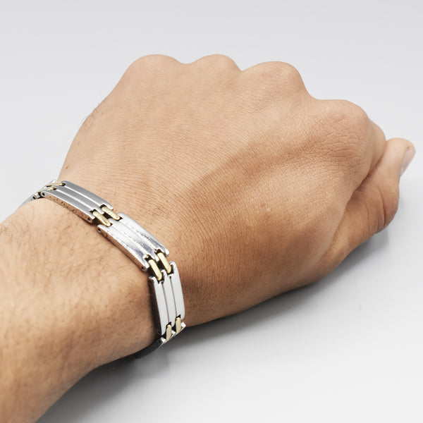 2020 stainless steel men bracelet male link chain on hand accessories