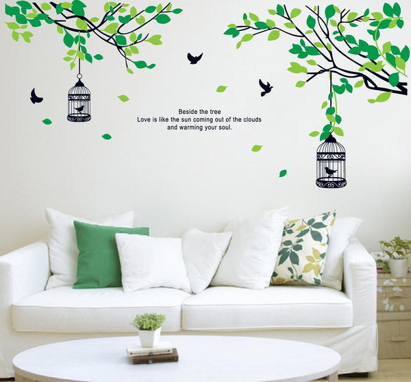 AY9045 Flowers Wall Stickers
