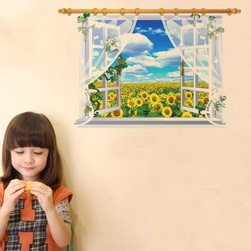 Sk9020A The Screen Scenery 3D Wall Sticker