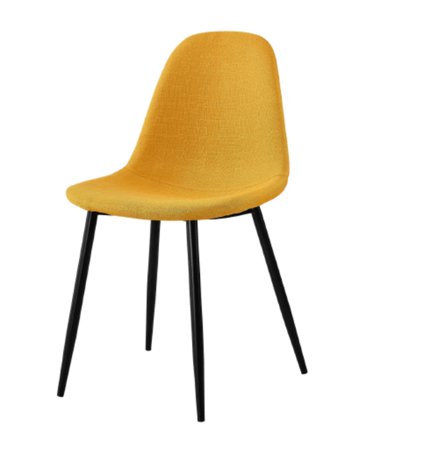 chaise-scandinave-jaune-curry