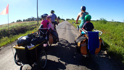 Bicycle Trailers - Travel With Your Kids