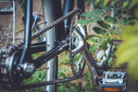 Lubricate pedals on your bicycle