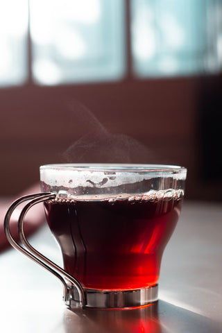 Warm spice tea red root and co
