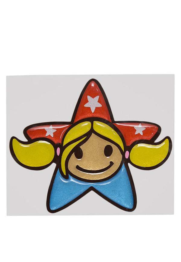 Summerstar Puff Sticker