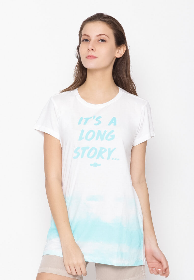 It's A Long Story Tee Teen