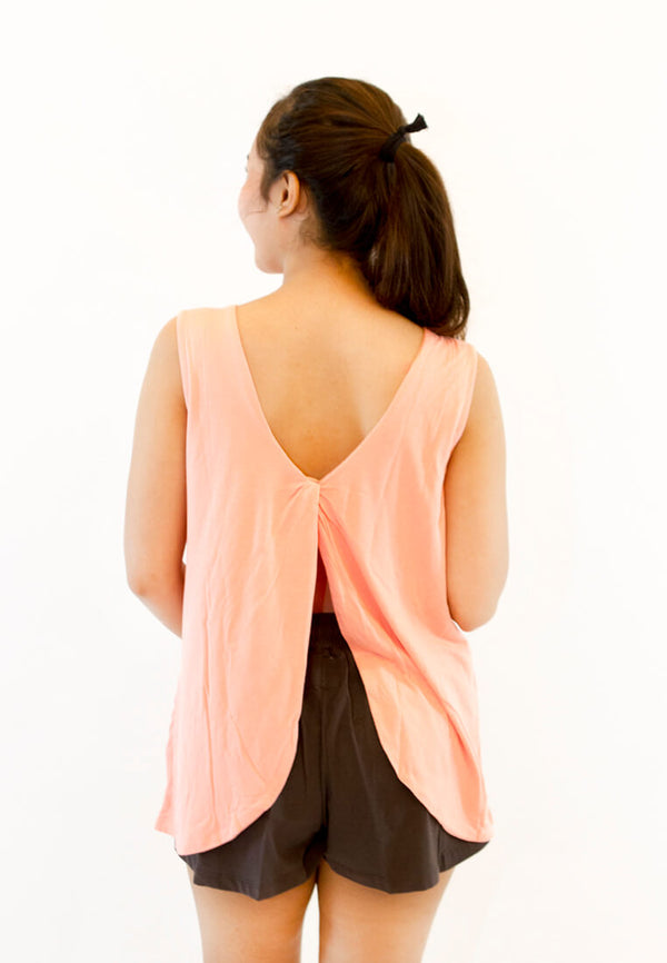 Summer Backless Tank Top