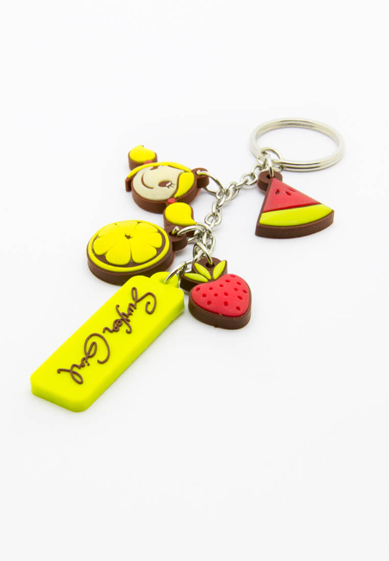 Tutty Fruity Keyring
