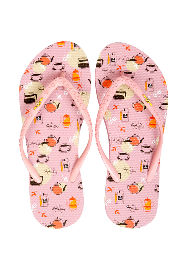 Coffee Time Teen Sandals