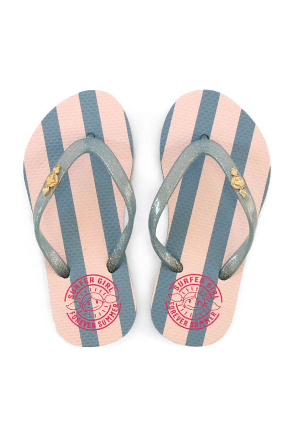 Summer Holiday Stripe Sandal
