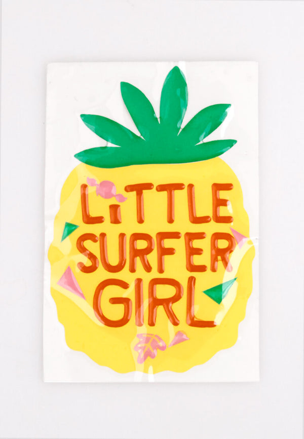Tropica Puff Sticker