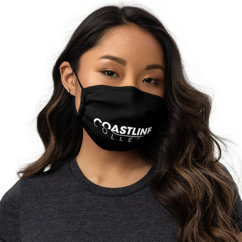 Coastline Premium Face Mask - Black