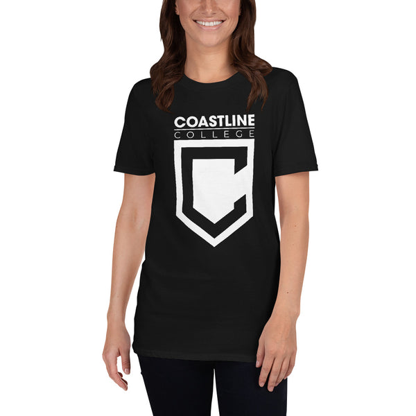 Coastline College Short-Sleeve Unisex T-Shirt - Dark Colors