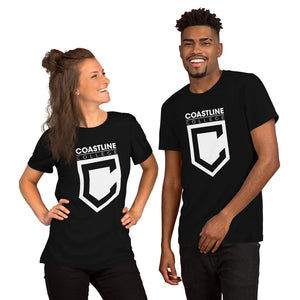 Coastline College Premium Short-Sleeve Unisex T-Shirt - Dark Colors