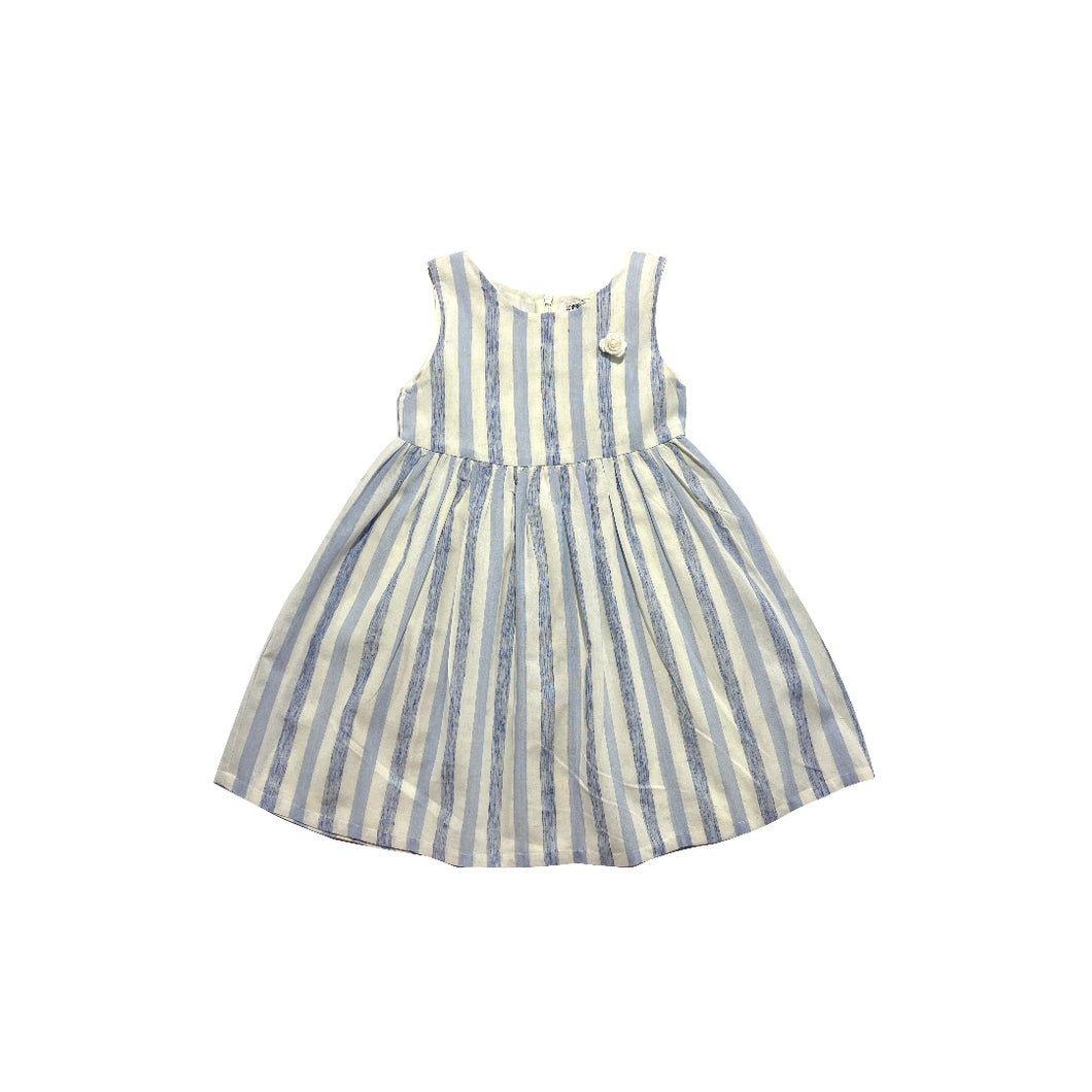 Dress -  (Blue And White Stripe)