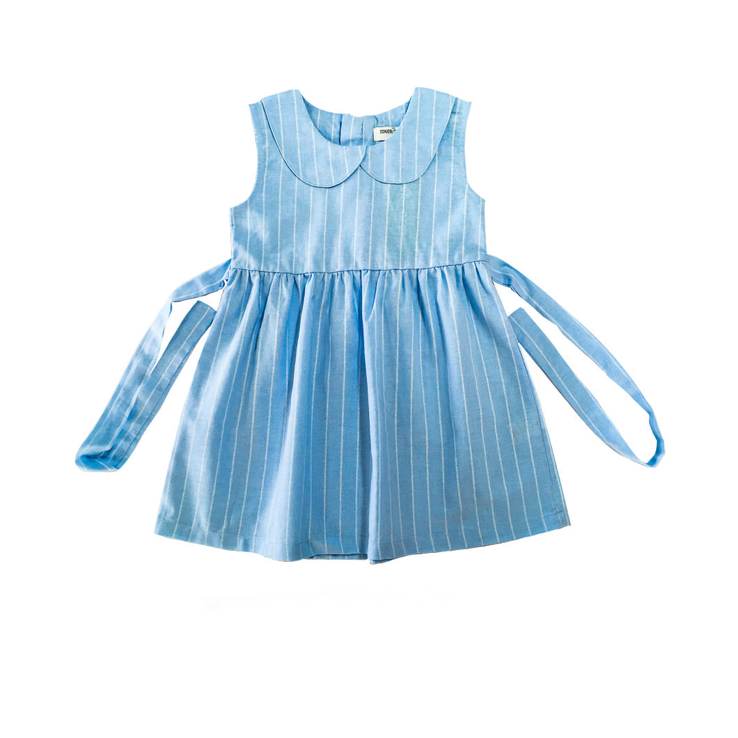 Dress - Blue Stripe (Blue And  White Stripe)