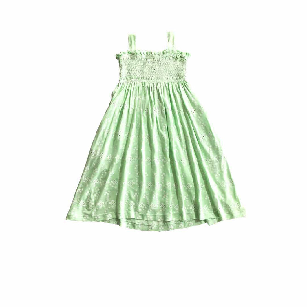 Dress - (Mint Green  Smock)