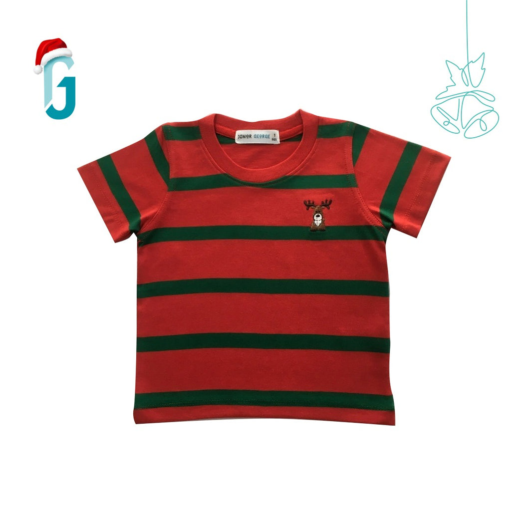 Crewneck - Reindeer (Red, Green)