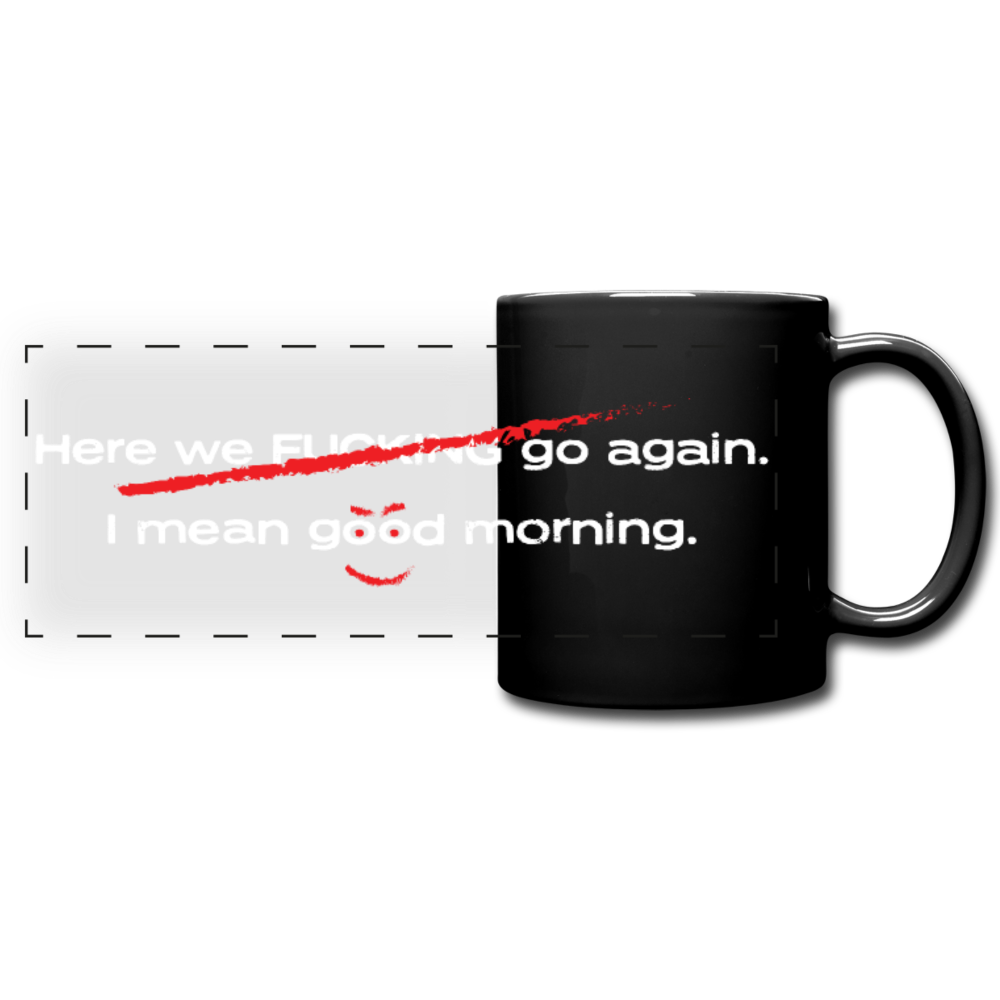 Good Morning Panoramic Mug - Digital Crayons