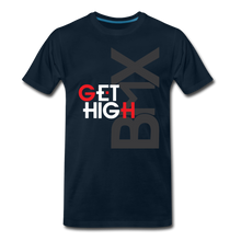 Load image into Gallery viewer, BMX - Get High Men's Premium T-Shirt - Digital Crayons