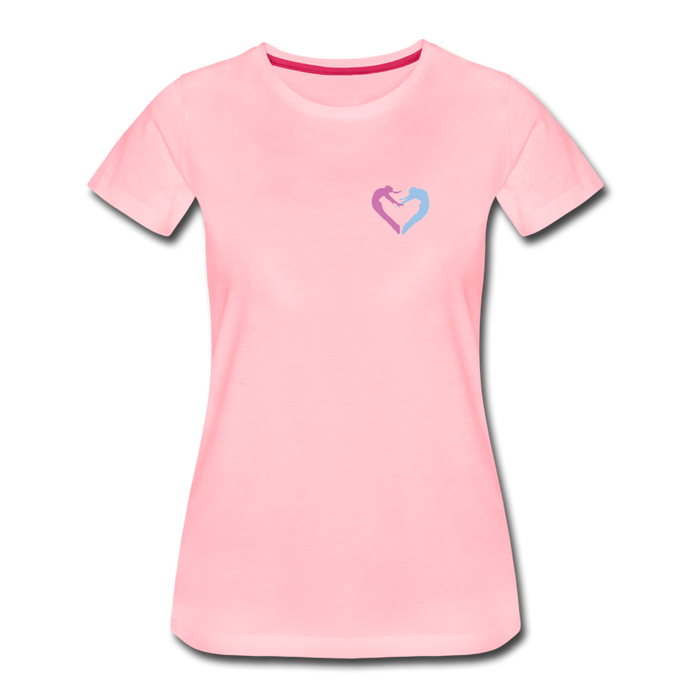 Dancers Heart Women's Premium T-Shirt - Digital Crayons