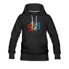 Load image into Gallery viewer, And... 5,6,7.8 Women's Premium Hoodie - Digital Crayons