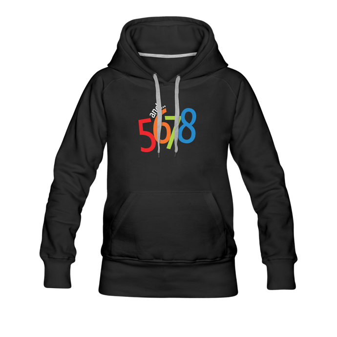 And... 5,6,7.8 Women's Premium Hoodie - Digital Crayons