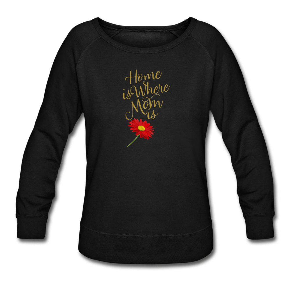 Home is Where Mom Is Women's Crewneck Sweatshirt - Digital Crayons