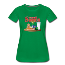 Load image into Gallery viewer, I Put Out For Santa Women's Premium T-Shirt - Digital Crayons