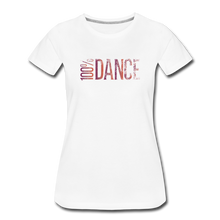 Load image into Gallery viewer, 100% Dance - Women - white