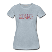 Load image into Gallery viewer, 100% Dance - Women - heather ice blue