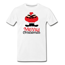 Load image into Gallery viewer, Merry Christmas - Ho Ho Ho Men's Premium T-Shirt - Digital Crayons